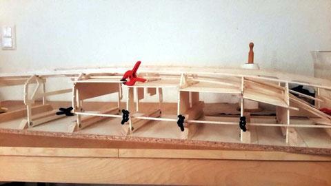 Différents niveaux de pont dans les cabines