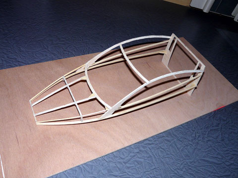 Début de fabrication de l'ossature des supers structures