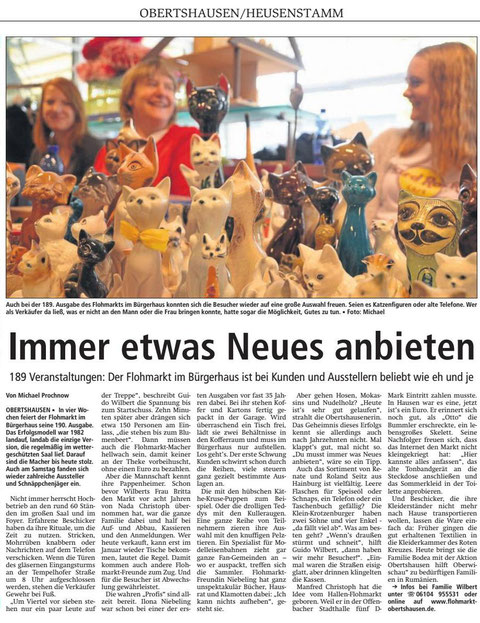 Offenbach Post vom 17.10.2016