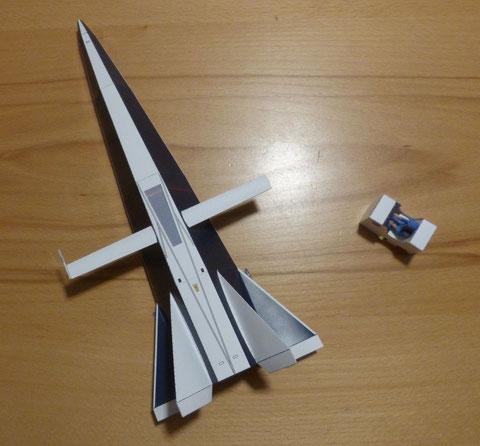 NASA Hyper III, HyperIII, Hyper 3, NASA Versuchsflugzeug, Lifting Body