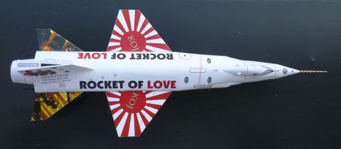 X-15, X15, King of Japan, Rocket of Love, KOJ, Spaceship