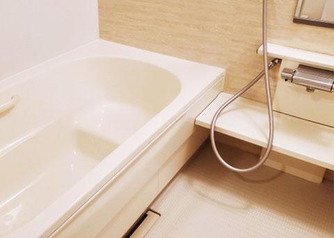 浴室清掃、バスルームクリーニング