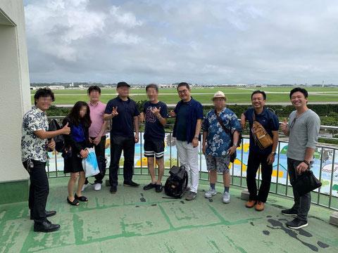沖縄不動産ツアーの開催風景