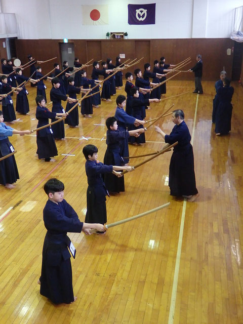 「木刀による剣道基本技稽古法」講習会