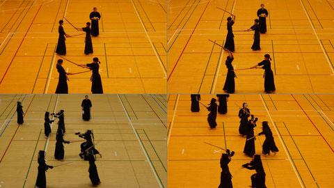 剣道連盟発表の様子