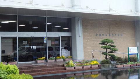 宇都宮市河内体育館、武道場もある立派な体育館でした
