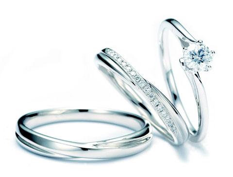 マリアヴェール婚約指輪+結婚指輪