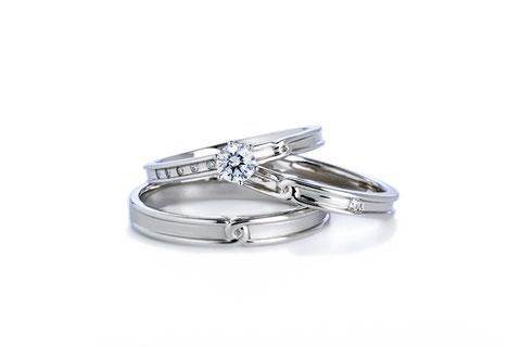 エターナルボンド指輪+結婚指輪