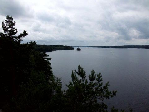Ausblick von Höga Klippan