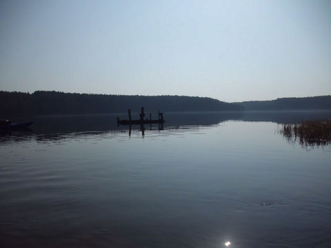 Morgenstimmung am Dabie - See