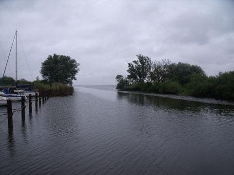 Einfahrt zum Kummerower See