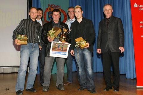 Sirg Schützbach (Deutscher Langbahnmeister), Gerd Riss (Langbahn-Team- und Einzelweltmeister), Max Dilger (Deutscher U-21-Speedwaymeister)U-21