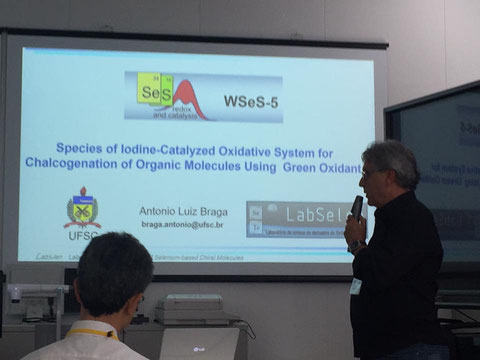 Prof. Antonio L. Braga talk at WSeS-5, Tokai-Japan 21-May-2016