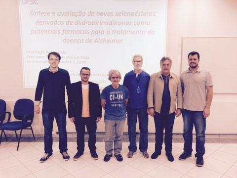 Defense (M.Sc) of Flavio Augusto, 27-July-2015