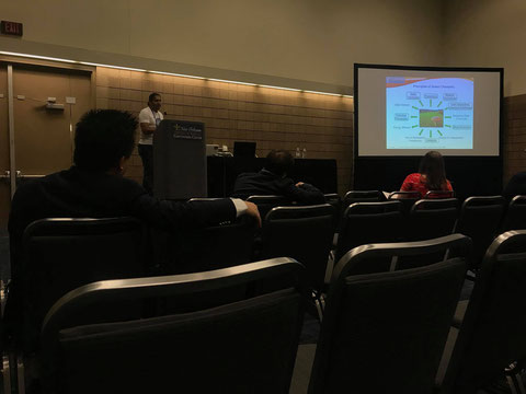 Oral talk by Jamal at 255th ACS National Meeting at New Orleans - USA 20-03-2018