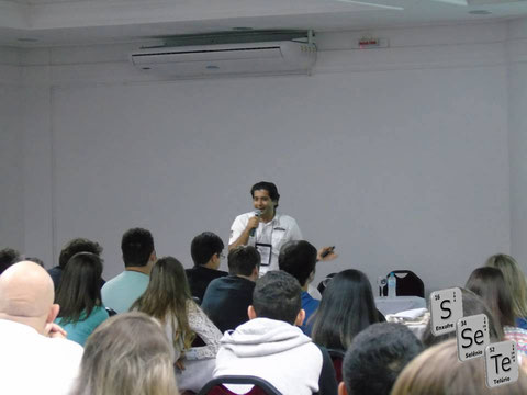 Oral Presentation of Jamal at ESeTe VI - Bento Gonçalves (Rio Grande do Sul) - Brazil
