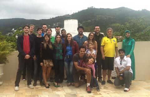 Prof. Braga Birthday Party 2015