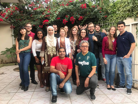 Group gathering and Famous Feijoada on the Birthday of Prof. Braga at his home (19-05-2018)