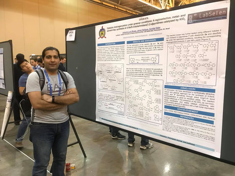 Poster Presentation by Jamal at 255th ACS National Meeting at New Orleans - USA 21-03-2018