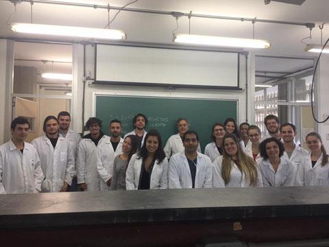 Experimental Class of Prof. Braga -  UFSC, 08-06-2017
