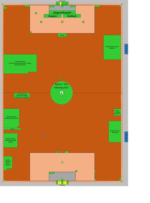 Zum Auswählen der Patenfläche bitte auf Bild oder Exceltabelle klicken. Dann gewünschte Koordinaten ins Kontaktformular eintragen. Grüne Flächen sind verkauft. Im Excelformular sind die Spender, wenn gewünscht, veröffentlicht.