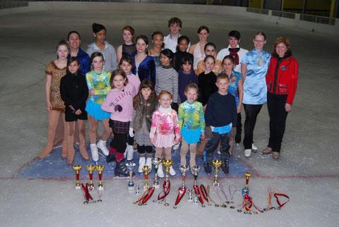 Le groupe de L'Ecole de Glace le 25 Mars 2011