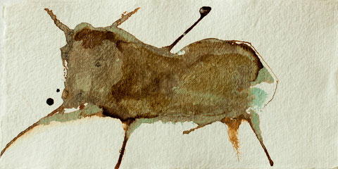 2011 I Stierkampf I 15/20 I Acryl auf Papier