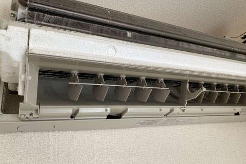 ビフォーアフター画像:熱交換部分のビフォー