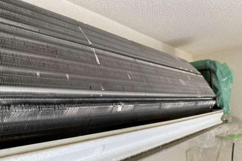 ビフォーアフター画像:熱交換部分のアフター