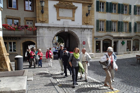 Stadtrundgang in Murten