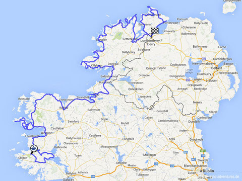 Route Irland Teil 3