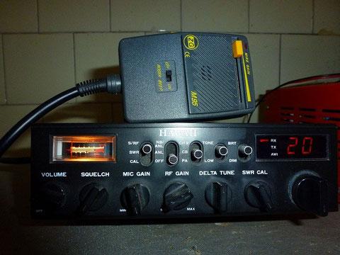 Mitico Radio C.B. Lafayette Hawaii