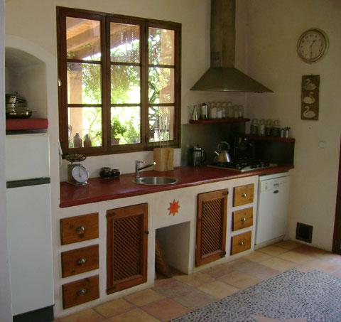 Küche Gemauert | Gemauerte Kuchen Sitzgruppen Schranke Regale Kamine Und Bader