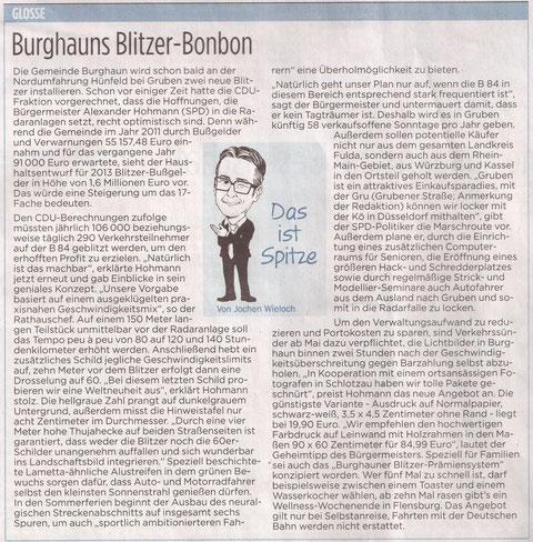 Fuldaer Zeitung vom 22.03.13