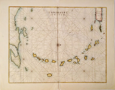 Johannes Blaeu, Canibales Insulae, Amsterdam 1662