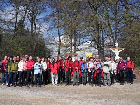 Wanderung am Römerweg von Mitterarnsdorf bis Aggsbach-Dorf