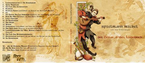 des Zeitreisenden Liederbuch (CD): 12,-- Euro
