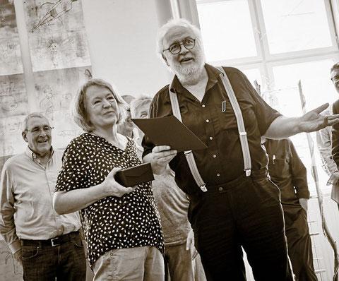 Das war die Vernissage samt Verleihung des Kulturpreises der Stadt Horn an Toni
