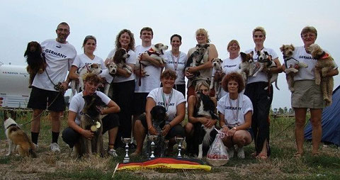 Foto: IMCA/PAWC08 - Team Germany in Italien