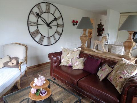 Wohnraum Ferienwohnung Adelboden im Juwel