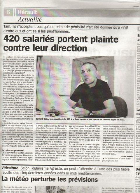 Affaire des 400 euros