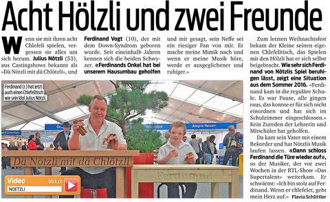 #Blick #Dä Nötzli mit dä Chlötzli #Chlefele #Julius Nötzli #Ferdinand