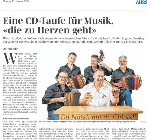 #Dä Nötzli mit dä Chlötzli #Chlefele #Julius Nötzli #Höfner #Echo vom Kontrabass-Shop