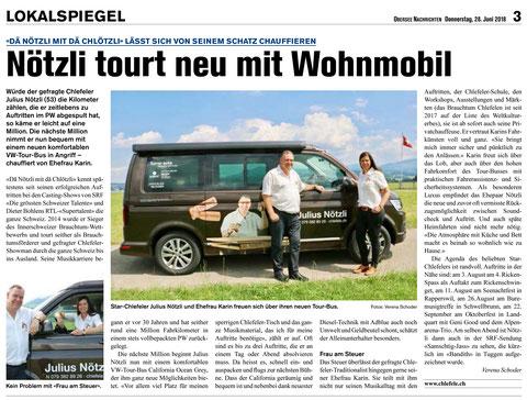 #Dä Nötzli mit dä Chlötzli #Chlefele #Julius Nötzli #VW Bus