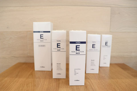リスブラン 敏感肌の方へ 低刺激性基礎化粧品 Non Eシリーズ