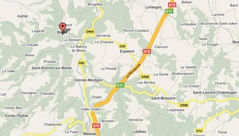 GPS : 45.3183834 N - 3.1704107 E