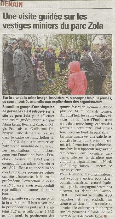 LA VOIX DU NORD DU JEUDI 28 MARS 2013