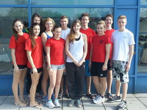 Schwimmteam Weingarten - Wettkampf Bruchsal