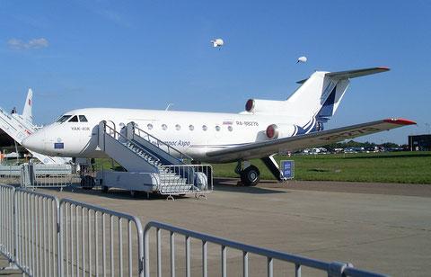 """JAK 40K  """" RA-88278 """"  KNG-Transavia -1"""