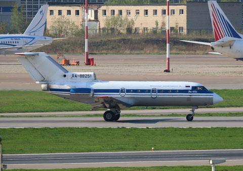 """JAK 40 """" RA-88251 """"   Wologodskoje Aviapredprijate -2"""